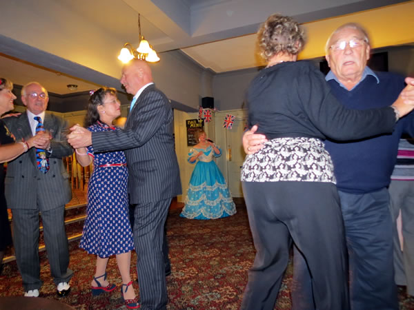 Image of me with folk dancing