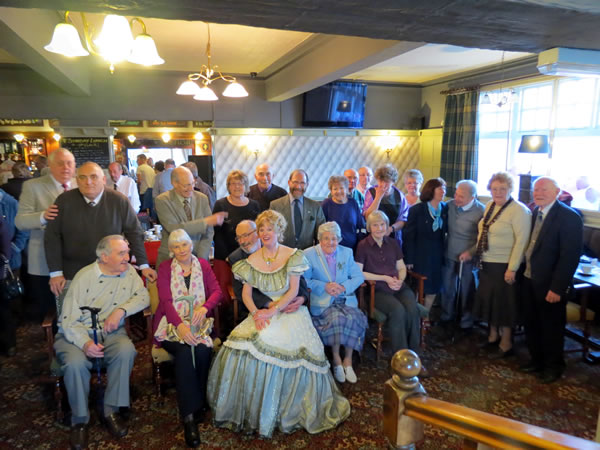 Image of the Derby and Notts Music Hall Association at the Fleur de Lys Hotel and Restaurant in Totley