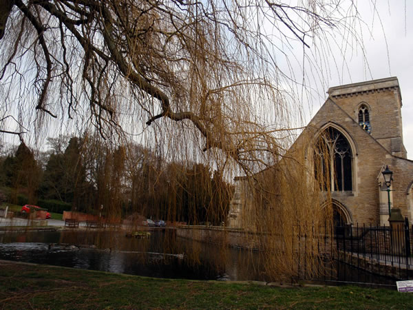 Image of The Church For Norman Colliers Funeral