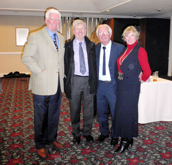 Image of Roy Walker, Peter, Syd Little (again!) and Me.