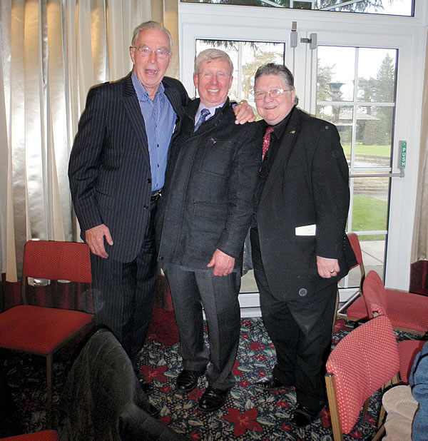 Image of Bernie Clifton, Peter and Johnnie Casson