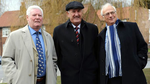 Image of Roy Walker, Russ Abbott and Roy Hudd