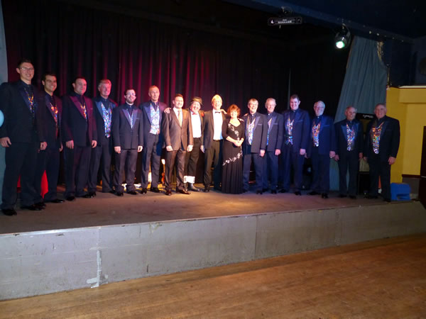Image of Derby and Nottingham Music Hall Association Annual Luncheon 2014
