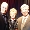 Bernie Clifton, Caroline and Peter Sandeman