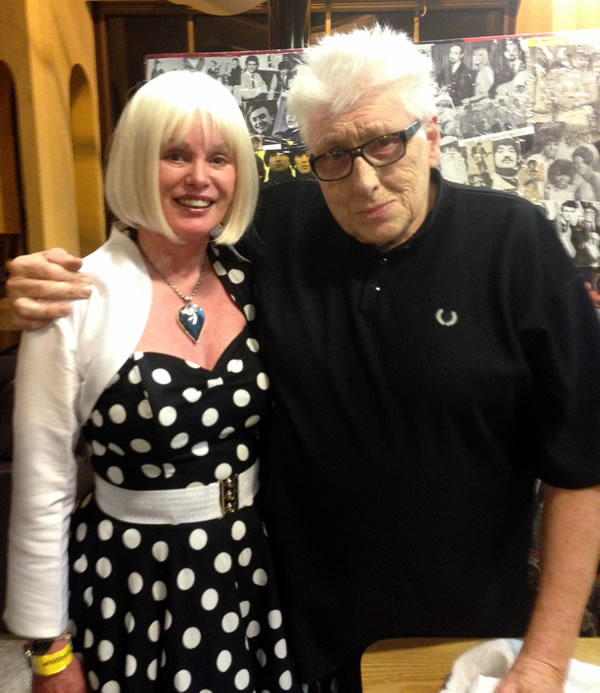 Caroline with Chris Farlowe