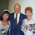 Caroline with Pat Holloway and Craig Douglas